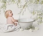 White floral set